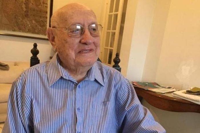 Morre aos 102 anos o empresário e ex-deputado federal Teotônio Neto, fundador do jornal Correio da Paraíba