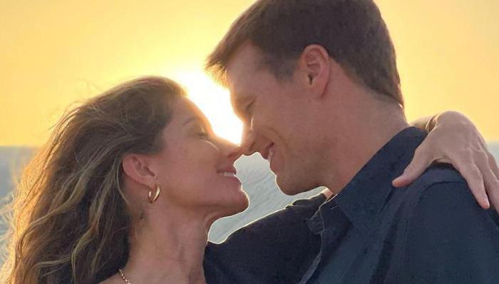Tom Brady publica homenagem de aniversário para Gisele: ''Te amo tanto''