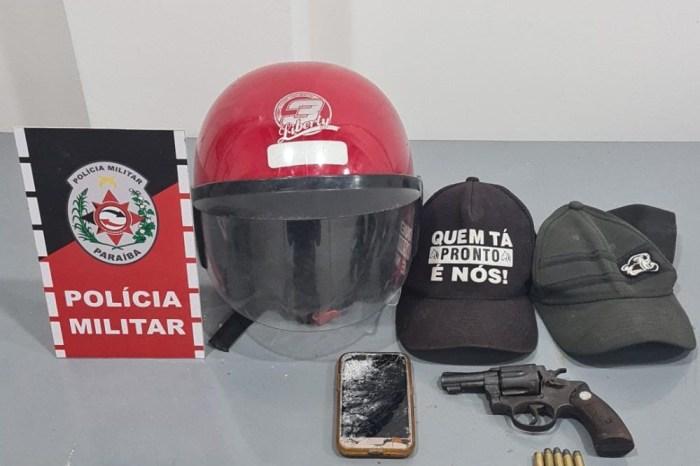 Polícia apreende nove armas de fogo em menos de 24h na Paraíba