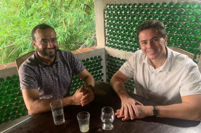 Benjamim Maranhão se reúne com Veneziano e será candidato nas eleições 2022