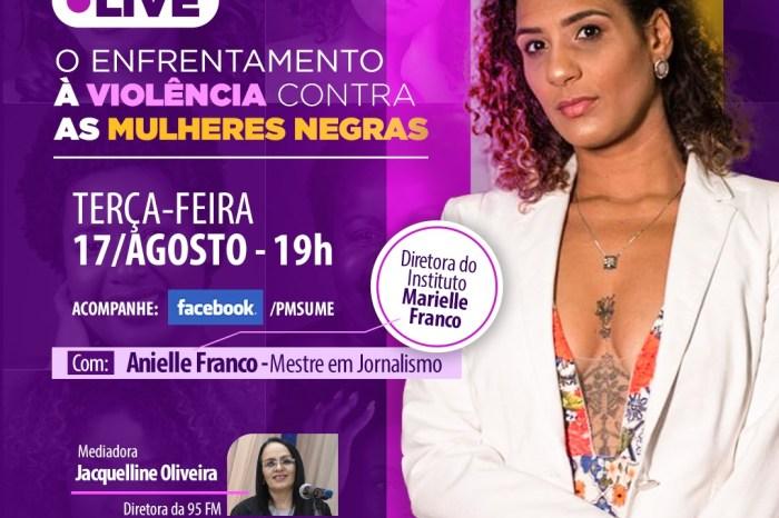 Prefeitura de Sumé realiza live com Anielle Franco - irmã de Marielle  Franco