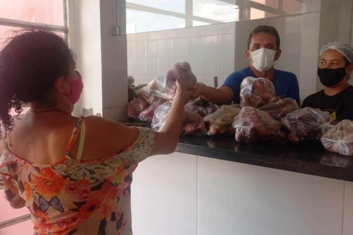 Prefeitura de Monteiro distribui produtos da Agricultura Familiar em parceria com o Governo do Estado