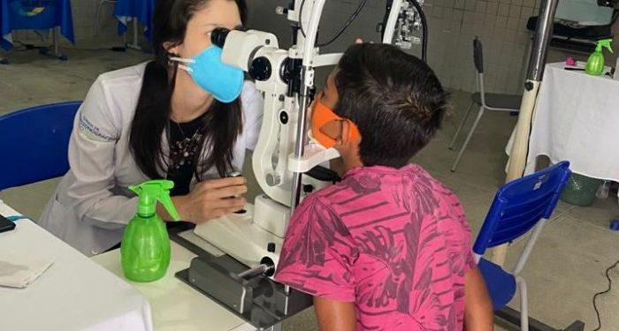 Ouro Velho realiza mutirão de exames oftalmológicos e atende mais de 100 pessoas