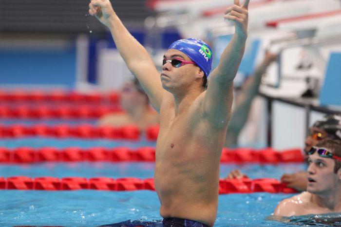 Tóquio: Gabriel Bandeira fatura ouro para o Brasil na natação