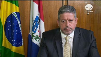 Arthur Lira diz que Câmara é 'motor de pacificação' entre Planalto e STF