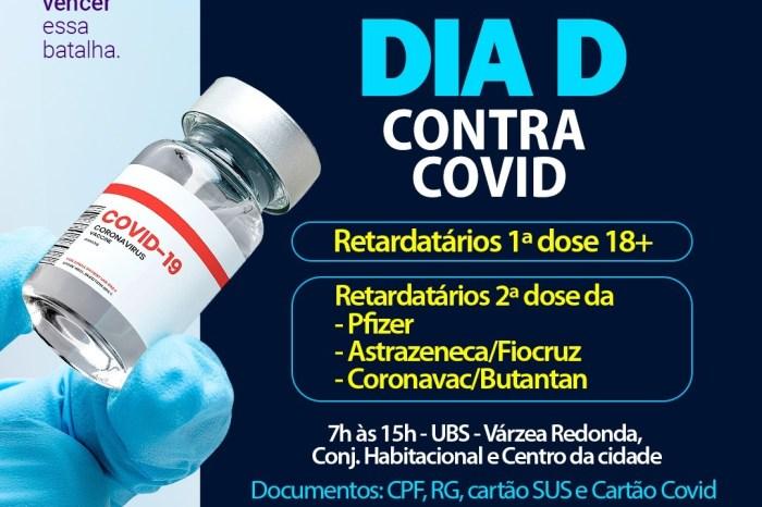 Equipe de saúde intensifica vacinação contra a covid-19 em Sumé