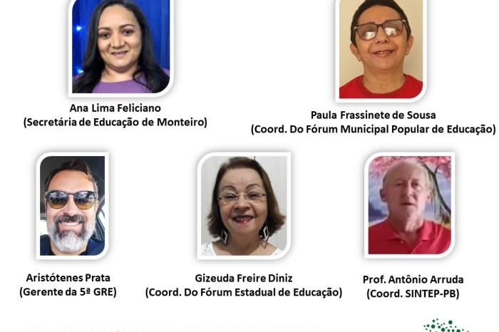 Monteiro sediará Conferência Intermunicipal Popular de Educação nesta sexta-feira