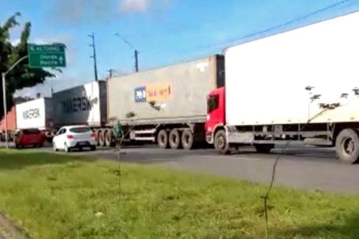 Paraíba não tem adesão em protestos de caminhoneiros, que atingem ao menos 15 estados