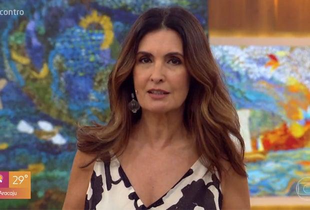 """Fátima Bernardes compartilha vídeo de William Bonner detonando Bolsonaro: """"vale a reflexão"""""""