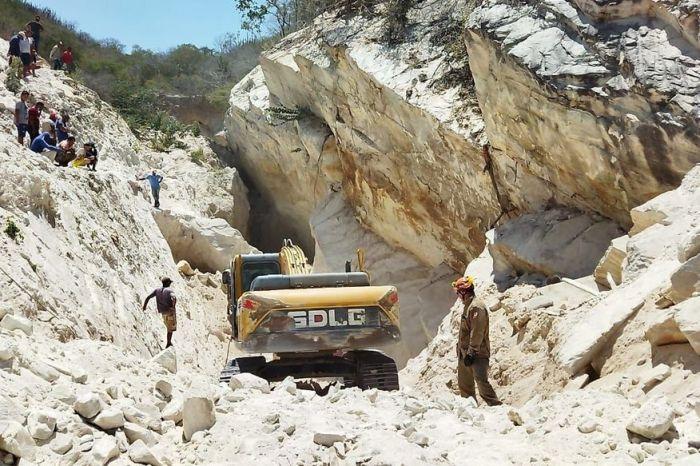 Ministério Público do Trabalho abre investigação sobre desabamento em mina que matou dois operários no Cariri