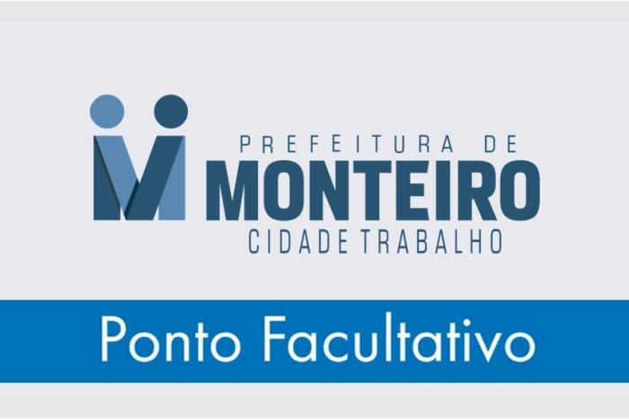Prefeitura de Monteiro decreta ponto facultativo nesta segunda-feira dia 06