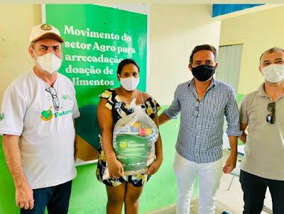 Prefeitura de São Sebastião do Umbuzeiro doa cestas básicas à agricultores do município