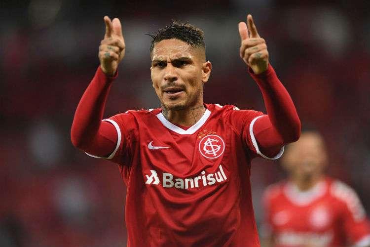 Inter e Guerrero acertam rescisão de contrato, e peruano está livre no mercado