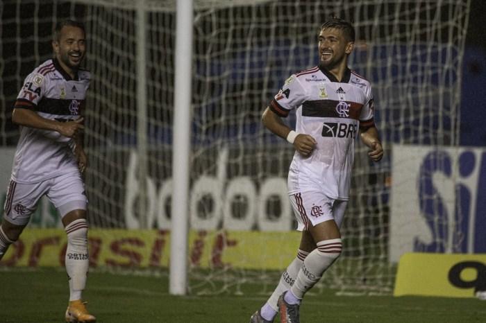 Com Arrascaeta e Everton Ribeiro em campo, Flamengo de Renato tem média de gols 193% maior