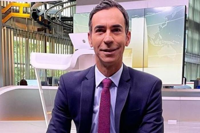 César Tralli fala sobre substituir Maju Coutinho no 'Jornal Hoje': ''Enorme desafio''