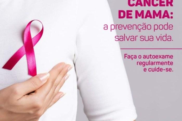 Secretaria de Saúde de Monteiro alerta sobre a importância dos cuidados com o câncer de mama