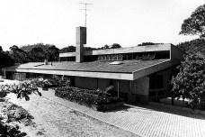 Residência Diete Hering, Blumenau, 1978. Arquiteto Hans Broos Foto divulgação  [Acervo Hans Broos]