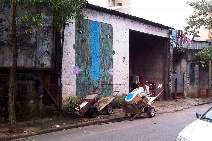 Carroças de transporte de carga, Grotão da Bela Vista<br />Foto Abilio Guerra