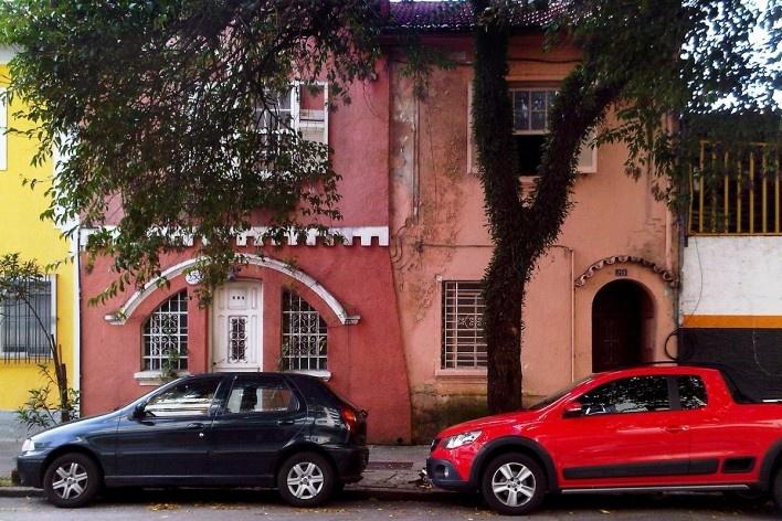 Casario no Grotão da Bela Vista<br />Foto Abilio Guerra