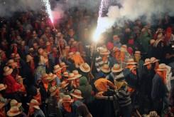 Diables cremant a la plaça de l'Ajuntament // Jose Polo