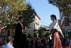 Els Gegants Vells al passeig del Terraplé // Jose Polo