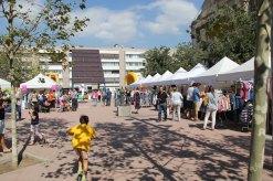 La FiraStocks s'ha ubicat al voltant de la plaça del Molí // Jordi Julià