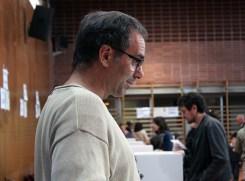 Un dels voluntaris al Bernat el Ferrer // Jose Polo