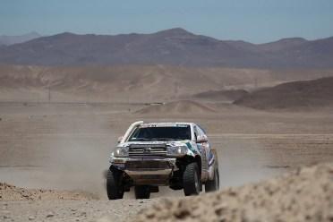 Xavi Foj durant l'etapa 5 del Dakar // Foj Motorsport