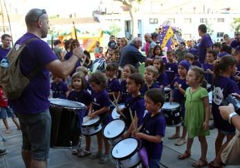 Actuació del grup de percussió dels Dimonis de Molins // Jose Polo