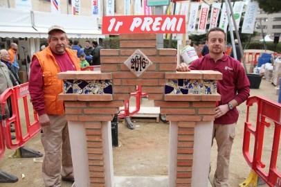 Els guanyadors del concurs de paletes de la 165 Fira de la Candelera // Marc Pidelaserra