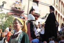Cercavila Gegants Vells Miquel, Montserrat i gegantó 2016