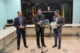 Joan Ramon Casals i Jordi Munell s'intercanvien regals // DGM