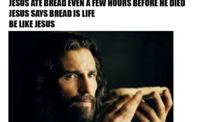 Enjoy some bread this easter