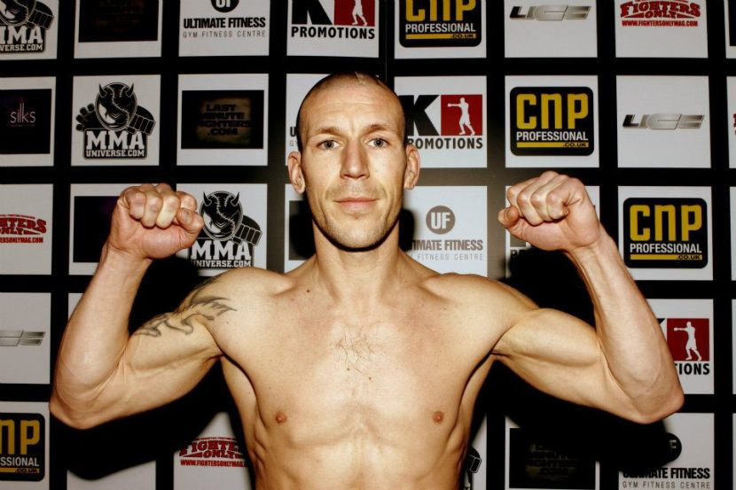 Jamie Lester Pre fight photo