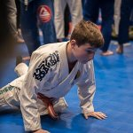 Ethan Ormston Sprawling at a BJJ competition