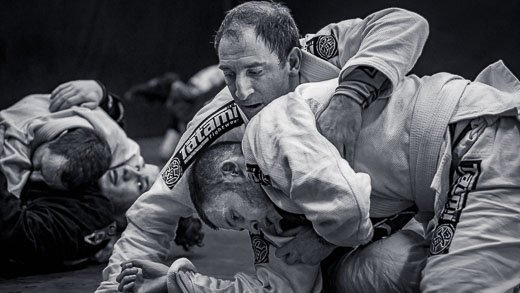 BJJ purple belt Alex Loukades takes toms back