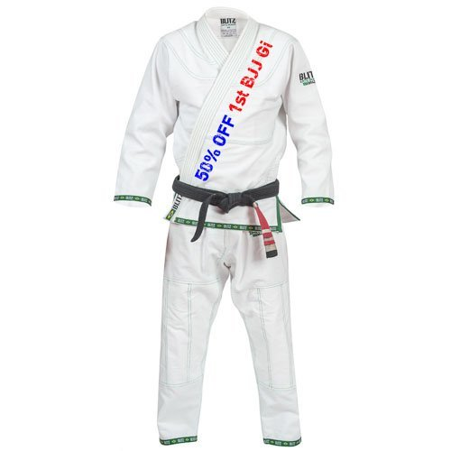 50% off your first BJJ Gi