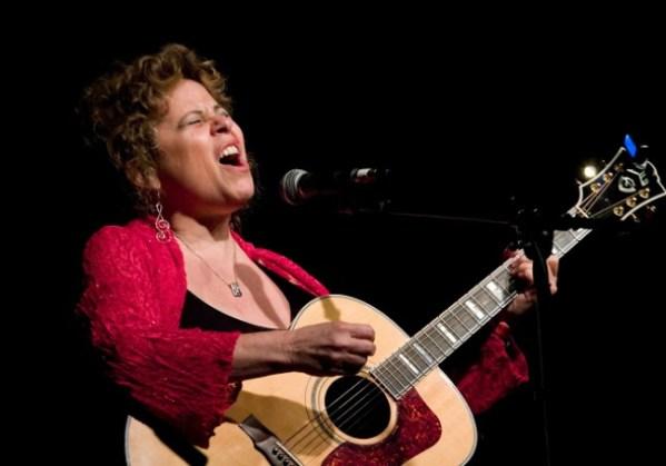 Ellen Bukstel sings about menopause