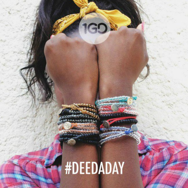 What if we all did a good #DeedADay in 2015?