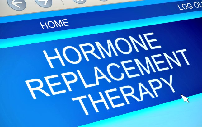I took hormone replacement therapy and I'm a new woman