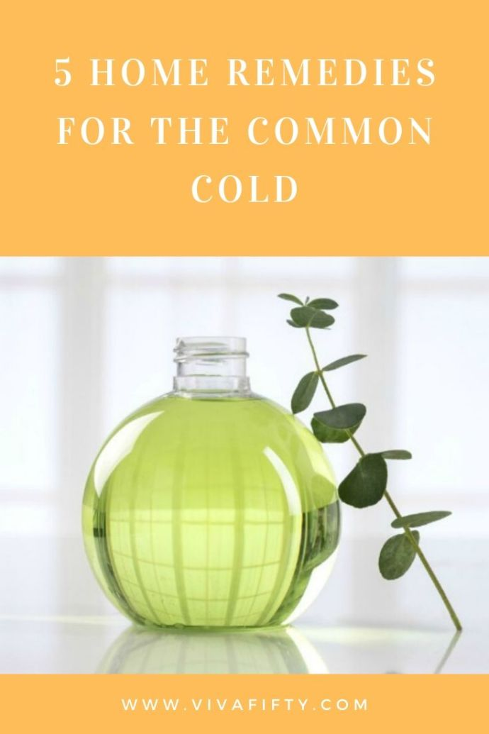 5 Home remedies for the common cold
