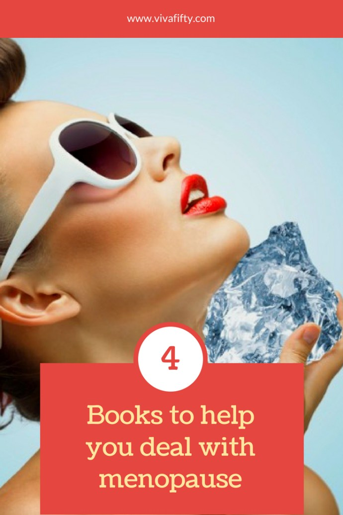 #Menopause is a tough time for many, but you don't have to rough it out. These 4 #books will help you cope.