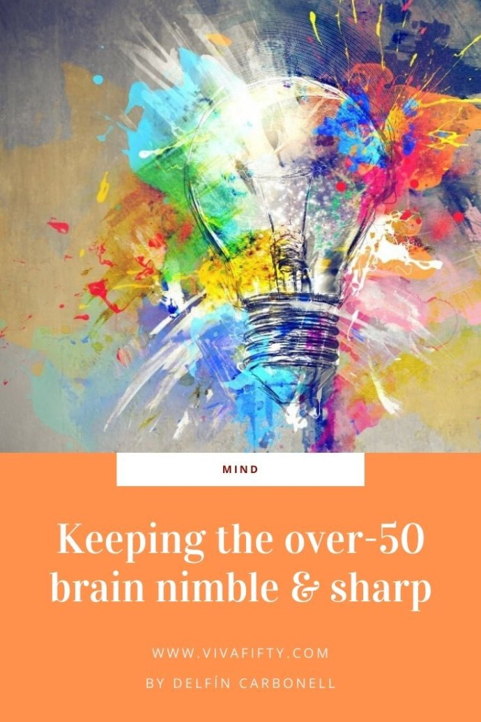 If you want your over-fifty brain to be sharp, forget working on jigsaw puzzles or sudoku games and learn a new language.