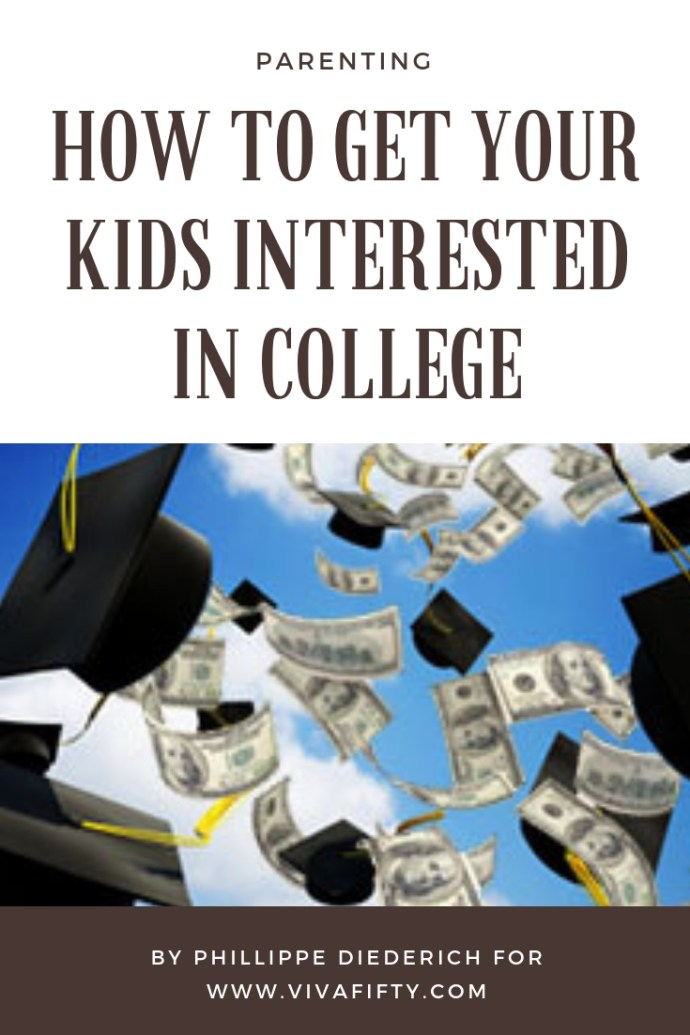 Getting kids interested in attending college starts when they enter high school. Perhaps one of the most important things you can do is tour college campuses with your child, so they can visualize what it's like to be there. It doesn't have to be an expensive private school. A local state college will help them get the feel. #college #parenting #latinos