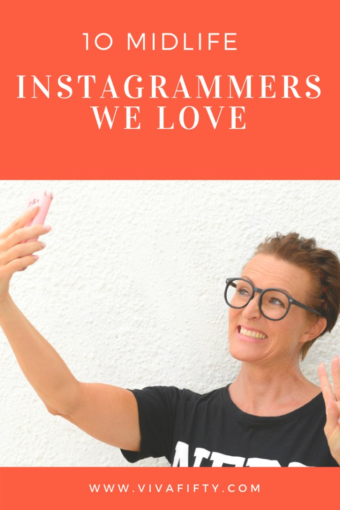 When we think of Instagram, teens and millennials come to mind, but not all influencers are super young. Here are 10 midlife instagrammers we can´t get enough of. #midlife #instagrammers #over40 #over50