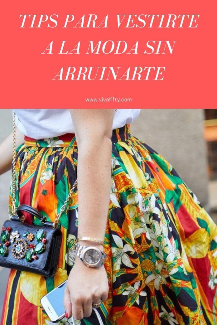 Vestirte a la moda no tiene por qué vaciarte la cuenta bancaria. No importa la edad que tengas, estas sugerencias te ayudarán a ahorrar dinero con estilo. #moda #estilo