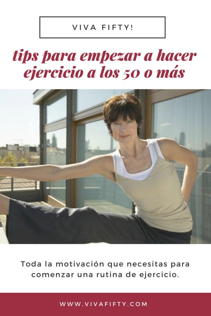 Empezar a hacer ejercicio en la #medianaedad no es fácil, sobre todo si nunca lo has hecho. Te damos sugerencias y recomendaciones para empezar a practicar #deporte a partir de los #50años