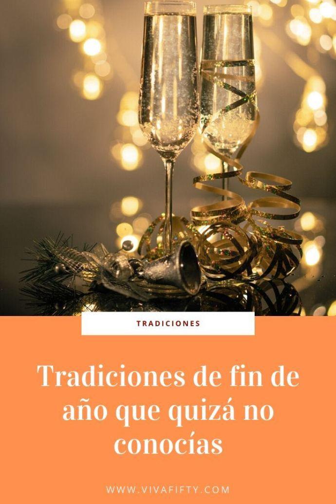 Las tradiciones de fin de año son diferentes en distintos países. No te garantizamos que funcionen pero pueden ayudarte a pasar un rato divertido.