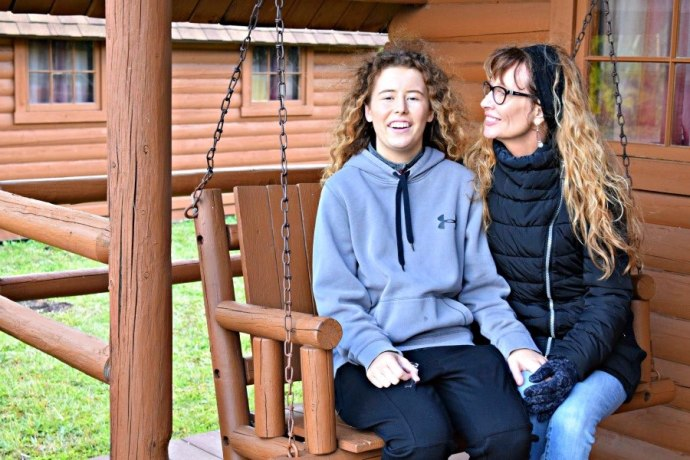 Reconnecting with our teens during our stay at KOA campgrounds