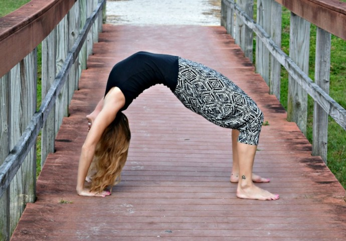 What I learned from these two very different yoga photos